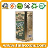 Stagni di memoria dell'olio da cucina delle latte dell'olio di oliva di 3 litri