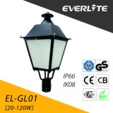 Lanterna della parte superiore dell'alberino dell'indicatore luminoso 60W del giardino di Everlite LED