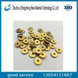 Lamierina di taglio manuale delle mattonelle di ceramica del carburo di Tungsteng con il rivestimento Gold-Plated