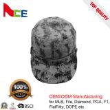 Qualität Camo Baumwollarmee-Militärschutzkappe mit Drucken-Firmenzeichen