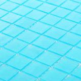 Mattonelle di mosaico di vetro blu della decorazione all'ingrosso di Morden