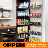 デザイナー考え現代様式PVC膜の食器棚(OP16-027)