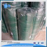 Rete metallica saldata ricoperta PVC dei 10 calibri