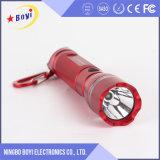 Linterna de la muestra libre, linterna de aluminio del LED