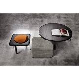 商業ホテルの表示シンプルな設計の大理石のコーヒーテーブル(SF-02)
