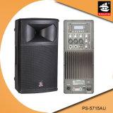 15 Spreker pS-5715au van de FM van de duim de PRO200W USB BR Plastic Actieve