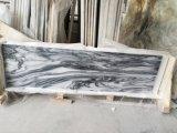 Полированный/Отточен черный/белый/серый мрамор большой слой/плитки/место на кухонном столе/лестницы/мозаика в ванной комнате или на стену