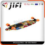 2 motor Vier het Elektrische Skateboard Elektrische Longboard van Wielen met Verder