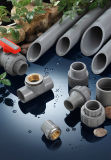Glissade NSF-Picowatt et UPC du programme 80 (ASTM D2467) de fiche d'extrémité d'ajustage de précision de pipe des systèmes sifflants PVC d'ère