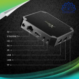 X96小型人間の特徴をもつアンドロイド7.1 OS TVボックスAmlogic S905Wのセットトップボックスのサテライトレシーバのスマートなメディアプレイヤー