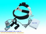 Chirurgisches LED Scheinwerfer-Vergrößerungsglas 3X des orthopädischen Chirurgie-Geräten-