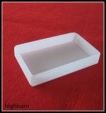 Milchiger weißer fixierter Quarz-Glasbehälter