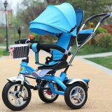 Цена горячего высокого качества надувательства дешевое 360 вращанный градусами трицикл младенца места с En71