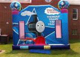 子供(T1252)のための膨脹可能な跳躍の弾力がある城の警備員