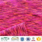 Tessuto di yoga di Lycra di stirata dello Spandex di Polyeste