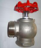 Клапан жидкостного огнетушителя резьбы латунного утюга прямоугольный