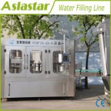 Agua mineral enjuagadora taponadora de llenado de la máquina