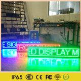 Système courant de message de couleur simple annonçant l'Afficheur LED