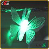 Da luz de borracha branca da corda da decoração do Natal do fio da iluminação 10m100LEDs do diodo emissor de luz o melhor preço