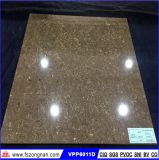 コーヒーカラー水晶石の磨かれた磁器の床タイル(VPP6011、600X600mm)