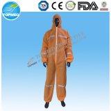 Combinaison non-tissée remplaçable, combinaison de sécurité des produits de sûreté