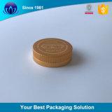 Cream Jar를 위한 매트 Gold Cosmetic Aluminum Cap Bottle Cap