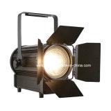 Projector de Fresnel do estúdio do diodo emissor de luz de Vello 250W para o teatro (TH250 WW)