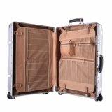 堅い旅行一定袋ポリエステルトロリースーツケースの手荷物の荷物