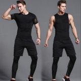 Gli ultimi vestiti di sport che addestrano il Active della camicia di ginnastica di usura ansima le ghette