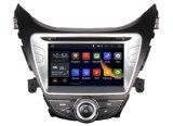8inchヒュンダイElantra 2012年のための人間の特徴をもつ車DVD GPSプレーヤーのラジオ