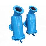 Filtre d'eau manuel de balai d'entraînement Pn16 pour le filtrage de tour de refroidissement