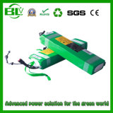 Lithium-Batterie 8ah/10ah/12ah/15ah/20ah der E-Fahrrad Batterie-24V/36V/48V in China mit Aktien