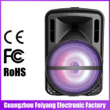 Un altoparlante da 12 pollici con il microfono senza fili a distanza Bluetooth F12-1 di FM