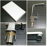 Mélangeur en laiton de bassin avec le robinet HD4257 de cuisine d'homologation de filigrane