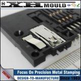 Bouton de estampage fait sur commande de clip à ressort en métal d'OEM