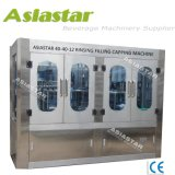 Monobloque totalmente automático de embotellado de agua 3 en 1 máquina de llenado