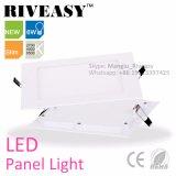 6W Square Nano Panel de luz LED con Ce&RoHS Panel LED LUZ