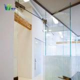 Sala de ducha escarchado vidrio templado con CE