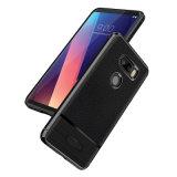 2018 nuove casse di cuoio del telefono della fibra del carbonio per il LG V30