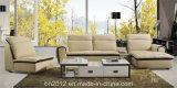 Sofa en cuir moderne de cuir véritable de salle de séjour de sofa (SBL-9101)