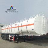 Кислота жидкости в баке для транспортировки химических веществ Semi танкер прицепа