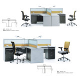 OEM Custom partition de meubles modernes Station de travail de bureau pour 2 personne