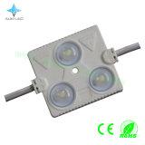 140lm módulo do diodo emissor de luz do Elevado-Brilho 1.44W 3LEDs com 3-5 anos de garantia para sinais ao ar livre de /LED do indicador de diodo emissor de luz