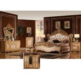 Antike Schlafzimmer-Möbel stellten mit klassischem Bett ein (W808)