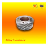Engranaje helicoidal del pequeño doble del módulo, rueda usada en la caja de engranajes de la industria del cemento