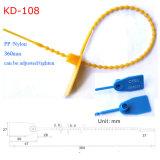 引っ張りなさい堅いプラスチックナイロン機密保護のタンパーの証拠のシール(KD-108)を