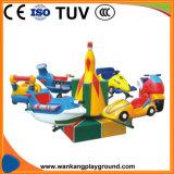 Le carrousel extérieur de Kiddie de carrousel d'amusement joyeux vont le rond (WK-Q1103)