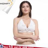 Bikini blanc de femmes de Macrame de Fbairc de joint du néoprène