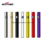 미국 시장 디스트리뷰터 Ocitytimes 320mAh 전자 담배는 Cbd 건전지를 미리 데운다