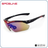 Receta polarizada Mens Womens Deporte gafas de sol 2016 Nuevo bastidor de la miopía Insertar Interchangeables Ciclismo gafas de lente de la conducción